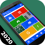 Square Home Key - Launcher: Windows style 7 APK Download - Android