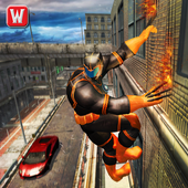 Superhero Panther Flying City Gangster Crime Fight 1.0