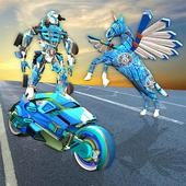 Robot Unicorn Bike Transform Battleground Royale 1.0