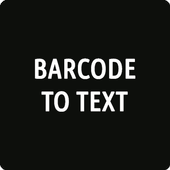 Barcode to Text 1.1