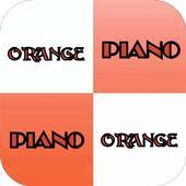 Piano Tap Orange : White Tiles 1.0