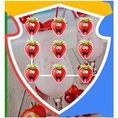 Applock Theme - Strawberry 1.0