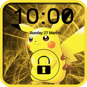 PikaPika Lock screen 1.0