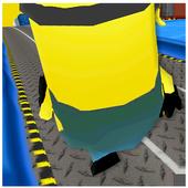 3D Run Robot Yellow Run 1.1