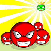 Red ball VS Green King Shooter 1.0.2