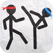 Sticked Man Fighting - Gravity 4