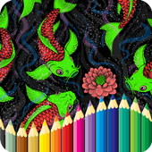 Koi Coloring Book - For Adult 1.9.1