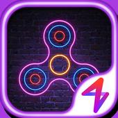 Neon Finger Spinner - Live  wallpaper 1.0