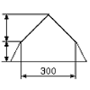 Calculation of mansard roof 1.0