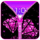Diamond Zip Lock Screen Prank 2
