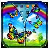 Rainbow Butterfly Zipper LS 1.0.1