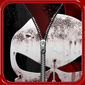 Skull Lock Screen
