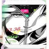 Sasuke 2D zipper lock 2.0