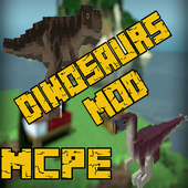 Dinosaurs Mod For Minecraft PE 7.0