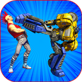 Real KungFu Robots Street Fight 1.0