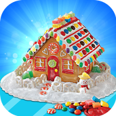 Crazy Gingerbread Baby House Maker Game 1.0