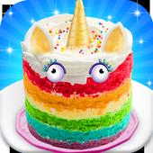 Unicorn Cake Games: New Rainbow Doll Cupcake 1.0.1
