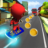 Subway Rush Hoverboard - Jump & RunBarcelonAppsAction
