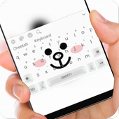 Cony love Brown keyboard
