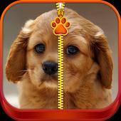 Cute Puppy Lock Screen Zipper 1.2