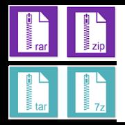 Rar Zip Tar 7Zip File Explorer, Private Vault 7 4 0 APK