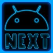 Next Launcher - Blue Theme 1.2