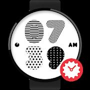 Moving Pattern watchface by Ne