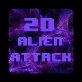 2D Alien Attack - Retro Action 1.8