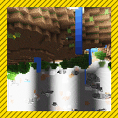 World Flip. Minecraft map 1.0.0