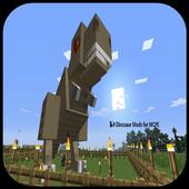 Dinosaur Mods for MCPE 1.0