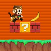 Super Banana jumping Kong Run 1.1