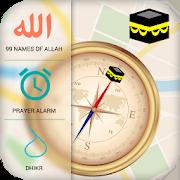 Qibla Compass & Prayer Times 3.0