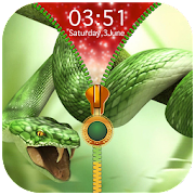 Snake Zipper Lock Screen 1.1