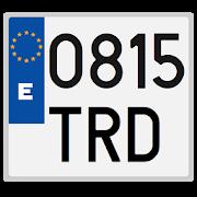 Spanish license plates - date 1.7.1