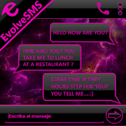 THEME EVOLVESMS SPACE PINK 1.0