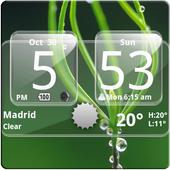 Sense Analog Glass Clock 4x2 4.2.4