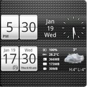 Sense Analog Small Clock 4x1 4.2.4
