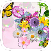 Flowers World Theme