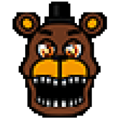 Pixel art Coloring by numbers for Fnaf