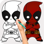 Learn how to draw SuperHero 1.0