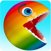 Pacman Eats Fruits free video 3.0