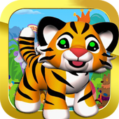 Cute Tiger In Circus 1.1