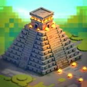 Aztec Craft: Ancient Blocky City Building Games 3D 1.2