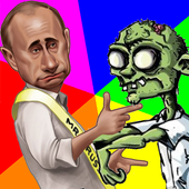 Putin vs ZombiesShooter & Action GamesAction