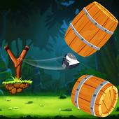 Barrel Knock Down Game - Free 1.1
