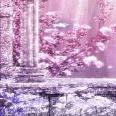 Purple Spring Garden LWP 1