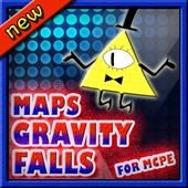 Maps for Minecraft PE gravity falls 2.3.2