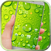 Green Water Drop Launcher