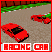 Map Racing Car for Minecraft 103 a.