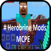 Herobrine Mods for MCPE 1.0